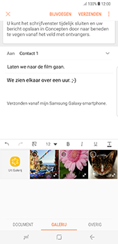 Samsung Galaxy S8 Plus - E-mail - hoe te versturen - Stap 13