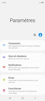 Samsung Galaxy S20 FE - Internet et connexion - Désactiver la connexion Internet - Étape 4