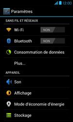 Bouygues Telecom Bs 401 - Internet et connexion - Accéder au réseau Wi-Fi - Étape 4