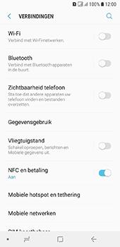 Samsung Galaxy A6 - wifi - handmatig instellen - stap 5