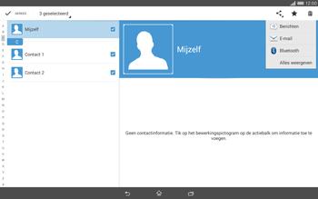 Sony Xperia Tablet Z2 4G (SGP521) - Contacten en data - Contacten overzetten via Bluetooth - Stap 10