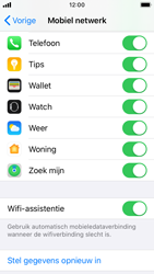 Apple iPhone SE - iOS 13 - wifi - schakel Wi-Fi Assistentie uit - stap 5