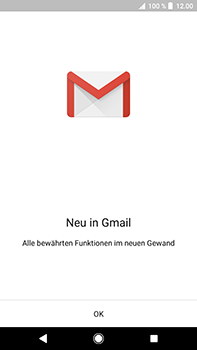 Sony Xperia XZ2 Premium - E-Mail - Konto einrichten (gmail) - Schritt 5