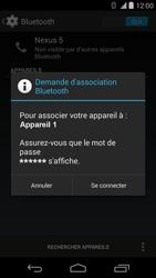 LG D821 Google Nexus 5 - Bluetooth - connexion Bluetooth - Étape 9