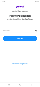 Samsung Galaxy Note 20 Ultra 5G - E-Mail - 032b. Email wizard - Yahoo - Schritt 10