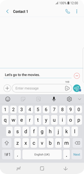 Samsung Galaxy S9 - MMS - Sending pictures - Step 11