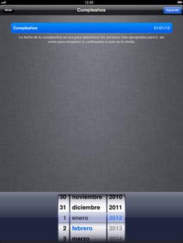 Apple iPad 2 - Primeros pasos - Activar el equipo - Paso 12
