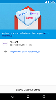 Android One GM5Plus DS - E-mail - handmatig instellen (yahoo) - Stap 13