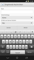 Sony Xperia Z - E-Mail - Konto einrichten - Schritt 9