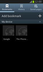 Samsung S7710 Galaxy Xcover 2 - Internet - Internet browsing - Step 12
