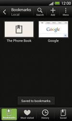 HTC T320e One V - Internet - Internet browsing - Step 10
