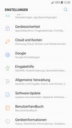 Samsung Galaxy S6 - Android Nougat - Software - Installieren von Software-Updates - Schritt 5