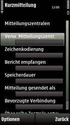 Nokia 5230 - SMS - Manuelle Konfiguration - 9 / 10