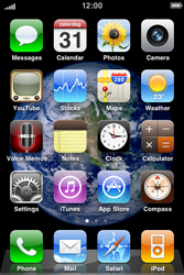 Apple iPhone 3G S - SMS - Manual configuration - Step 1