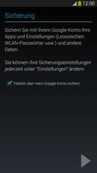 Samsung Galaxy S4 Active - Apps - Konto anlegen und einrichten - 0 / 0