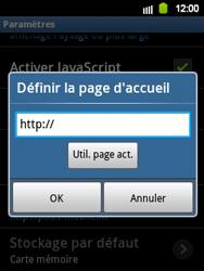 Samsung S5360 Galaxy Y - Internet - Configuration manuelle - Étape 15