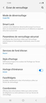 Samsung Galaxy A21s - Sécuriser votre mobile - Activer le code de verrouillage - Étape 13