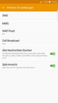 Samsung G928F Galaxy S6 edge+ - SMS - Manuelle Konfiguration - Schritt 7