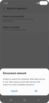 Samsung Galaxy S10 Plus - Network - Manual network selection - Step 8