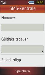 Samsung S5230 Star - SMS - Manuelle Konfiguration - Schritt 8