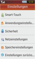 Samsung S5230 Star - Fehlerbehebung - Handy zurücksetzen - Schritt 6