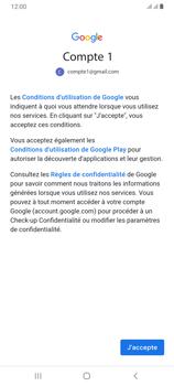 Samsung Galaxy A70 - E-mail - 032a. Email wizard - Gmail - Étape 11