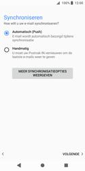 Sony Xperia XZ2 Compact - E-mail - e-mail instellen: IMAP (aanbevolen) - Stap 19