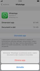 Apple iPhone 6s - iOS 13 - Applicazioni - Come disinstallare un