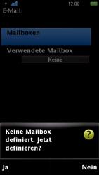 Sony Ericsson U5i Vivaz - E-Mail - Konto einrichten - Schritt 7