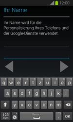 Samsung Galaxy Express - Apps - Einrichten des App Stores - Schritt 6