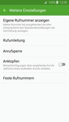 Samsung J320 Galaxy J3 (2016) - Anrufe - Rufumleitungen setzen und löschen - Schritt 7