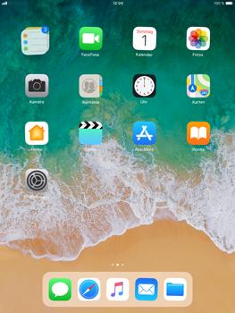 Apple iPad Air 2 - iOS 11 - Mehrere App-Symbole gleichzeitig verschieben - 4 / 5