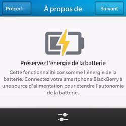 BlackBerry Q10 - Internet et connexion - Partager votre connexion en Wi-Fi - Étape 9