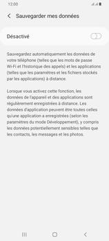 Samsung Galaxy A42 5G - Aller plus loin - Gérer vos données depuis le portable - Étape 10