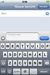 Apple iPhone 3G - MMS - hoe te versturen - Stap 3