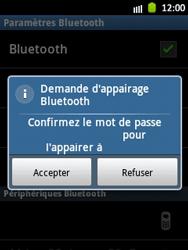 Samsung Galaxy Pocket - Bluetooth - Jumelage d