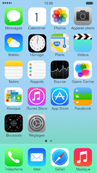 Apple iPhone 5c - Applications - Comment désinstaller une application - Étape 1