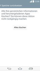 LG D855 G3 - Fehlerbehebung - Handy zurücksetzen - Schritt 10