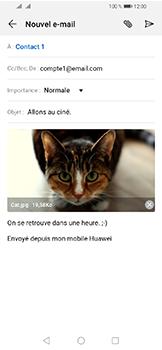Huawei Y6 (2019) - E-mails - Envoyer un e-mail - Étape 15