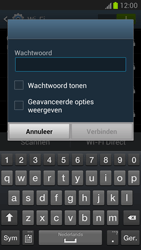 Samsung N7100 Galaxy Note II - Wifi - handmatig instellen - Stap 7