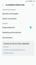 Samsung Galaxy S6 - Android Nougat - Gerät - Zurücksetzen auf die Werkseinstellungen - Schritt 5