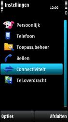 Nokia X6-00 - Internet - handmatig instellen - Stap 4