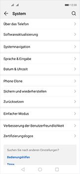 Huawei Nova 5T - Software - Installieren von Software-Updates - Schritt 4