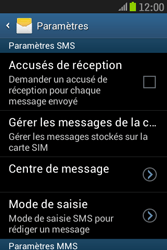 Samsung S6310 Galaxy Young - SMS - Configuration manuelle - Étape 6
