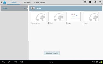 Samsung Galaxy Tab 2 10.1 - Internet e roaming dati - Uso di Internet - Fase 11