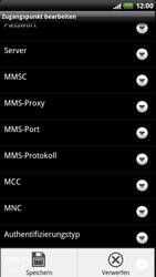 HTC Z715e Sensation XE - MMS - Manuelle Konfiguration - Schritt 13