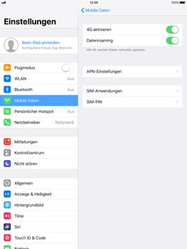 Apple iPad Pro 9.7 inch - Ausland - Im Ausland surfen – Datenroaming - 8 / 10