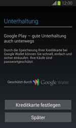 Samsung Galaxy Express - Apps - Einrichten des App Stores - Schritt 21