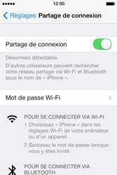 Apple iPhone 4S - Internet et connexion - Partager votre connexion en Wi-Fi - Étape 6