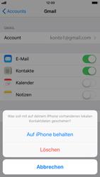 Apple iPhone 6s - Kontakte - Sicherheitskopie des Geräts mit OS-Konto erstellen - 1 / 1
